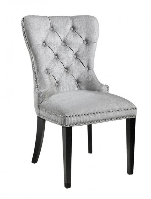 Euphoria Platinum Fabric Dining Chair