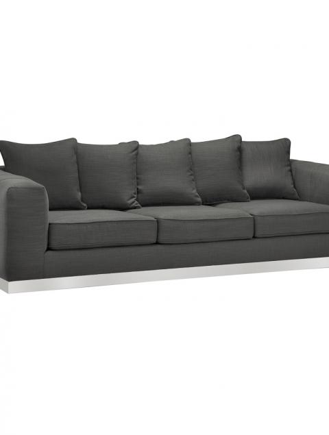 Burlington Grey Linen Sofa